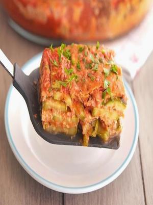 High-Protein Zucchini Parmesan Healthy Recipe