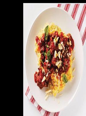 Italian-Style Veggie-Burger with Polenta Healthy Recipe