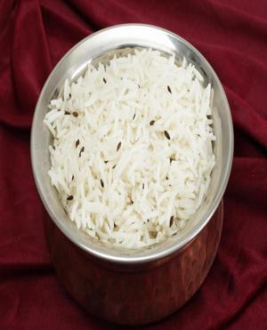Jeera (Cumin) Rice Healthy Recipe