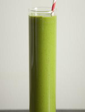 Kale and Banana Smoothie Healthy Recipe