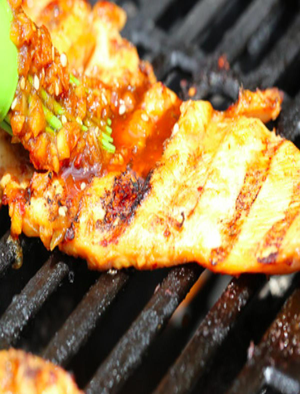 Korean Grilled Chicken Breasts Healthy Recipe