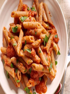 Lightened Up Penne alla Vodka Healthy Recipe