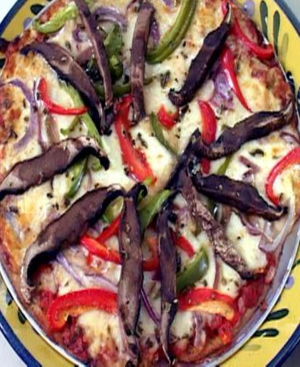 Low Carb Pizza Healthy Recipe