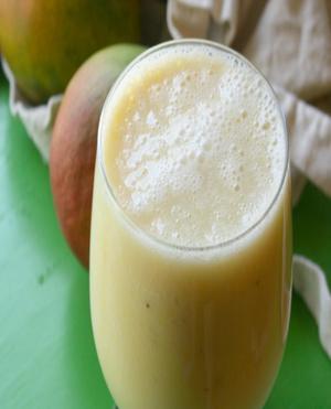 Mango Banana Smoothie Healthy Recipe