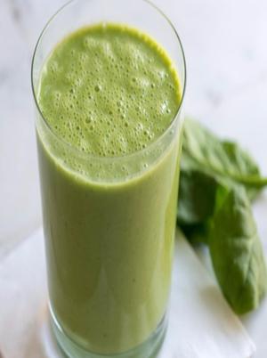 Mango, Berry, Flax Smoothie Healthy Recipe