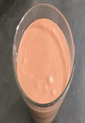 Maple, Banana, Peanut Butter, Chocolate Smoothie Healthy Recipe