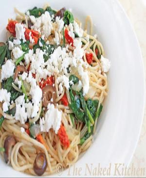 Mediterranean Pasta Healthy Recipe