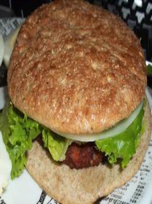 Microwave Black Bean Burger Healthy Recipe