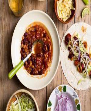 Mixed Bean Goulash Healthy Recipe
