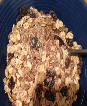 Muesli Healthy Recipe