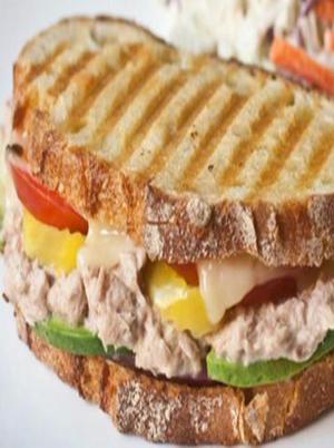 Multi-Grain Spicy Tuna Melt Healthy Recipe