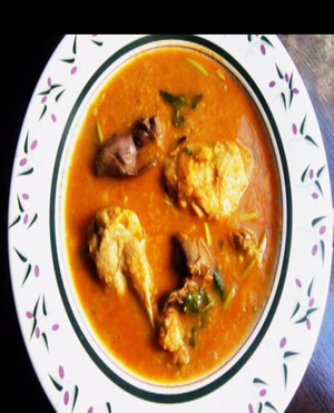 Mung Dal With Chicken Healthy Recipe