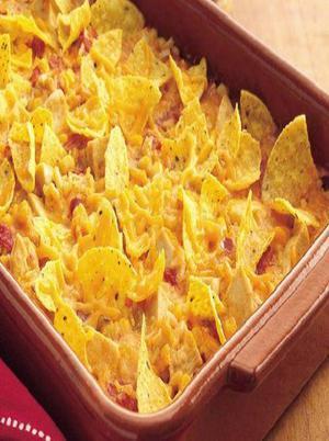 Quick Easy Nacho Chicken Casserole Healthy Recipe
