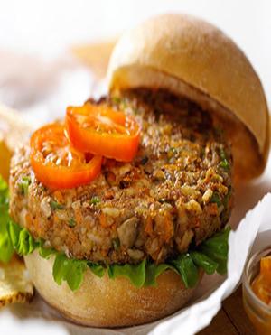 Nutburgers Healthy Recipe