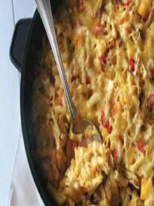 One-Pan Pumpkin Pasta Bake Healthy Recipe