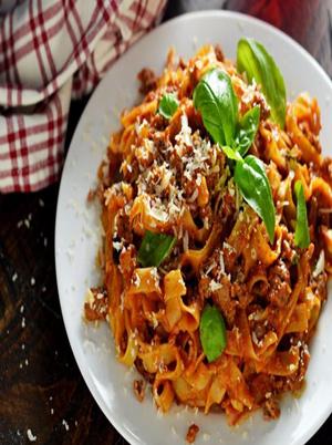 One Pot Pasta Bolognese Healthy Recipe