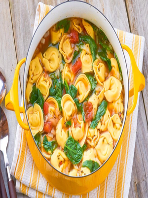One-Pot Tortellini Soup Healthy Recipe