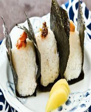 Onigiri Balls Healthy Recipe