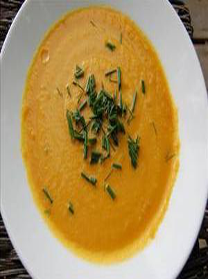Onion Carrot And Ginger Soup Healthy Recipe