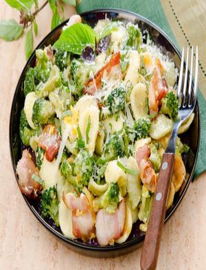 Orecchiette with Pancetta and Broccoli Healthy Recipe