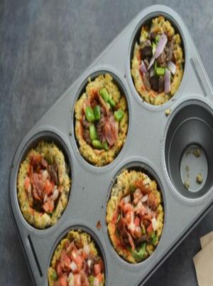 Paleo Cauliflower Pizza Cups Healthy Recipe