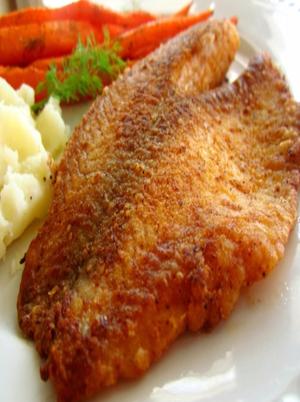 Pan Fried Seasoned Tilapia Healthy Recipe
