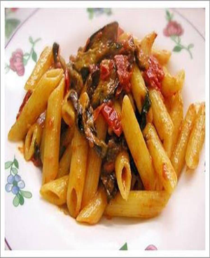 Pasta Melanzana Healthy Recipe
