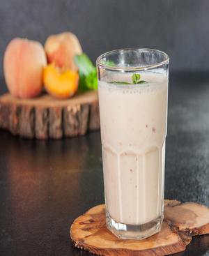 Peach Protein Smoothie Healthy Recipe