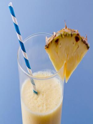 Pineapple Coconut Vitamin C Smoothie Healthy Recipe