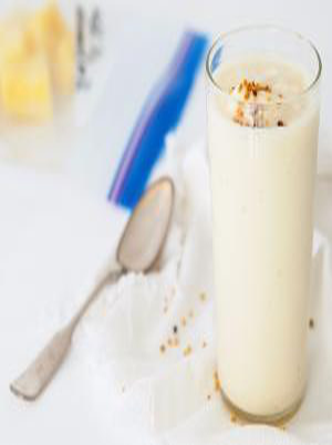Pineapple Greek Yogurt Smoothie Healthy Recipe