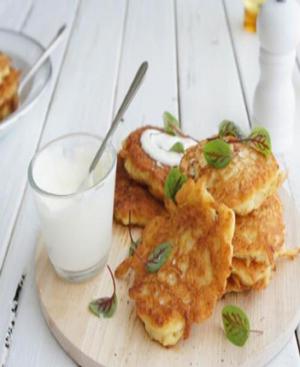 Potato Fritters Healthy Recipe