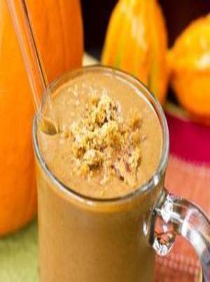 Pumpkin Gingerbread Smoothie Healthy Recipe