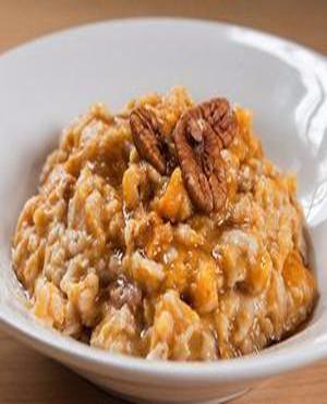 Pumpkin Pecan Oatmeal Healthy Recipe