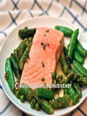 Quick Easy Poached Salmon Healthy Recipe