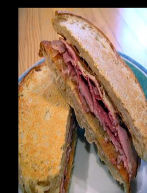 Roast Beef Sandwich Au Jus Healthy Recipe