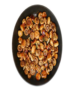 Roast Mushrooms Healthy Recipe