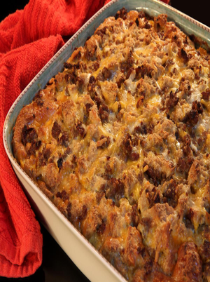 Sausage and Egg Casserole Healthy Recipe