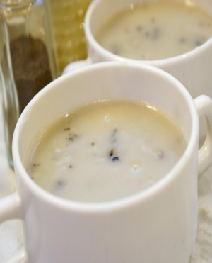 Savory Mushroom Soup Healthy Recipe
