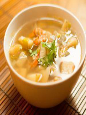 Shrimp and Hotroot Soup Healthy Recipe