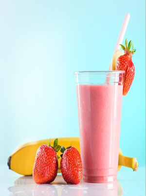 Simple Strawberry Protein Shake Healthy Recipe