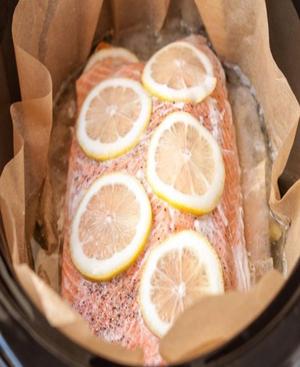 Slow Cooker Salmon Healthy Recipe