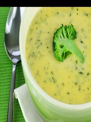 Smoked Salmon and Broccoli soup Healthy Recipe