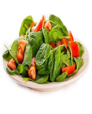 Spinach Tomato Salad Healthy Recipe