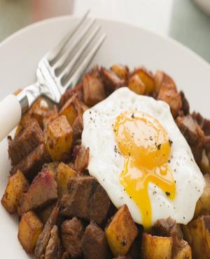Steak and Eggs Hash Healthy Recipe
