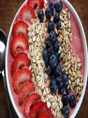 Strawberry Smoothie Bowl Healthy Recipe
