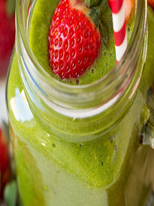 Strawberry Spinach Smoothie Healthy Recipe
