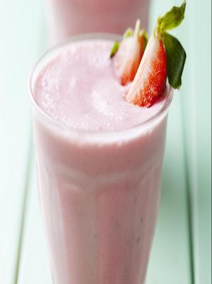 Strawberry Vanilla Coconut Smoothie Healthy Recipe