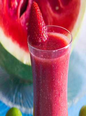 Strawberry Watermelon Smoothie Healthy Recipe
