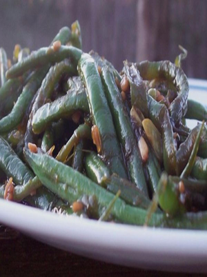 Sweet and Spicy Green Beans Healthy Recipe