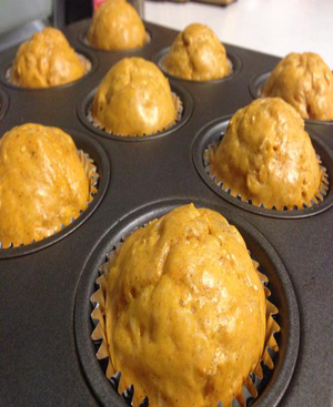 Sweet Potato Muffins Healthy Recipe